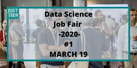 Data Science Job Fair 2020 #1 tickets