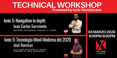 Technical Workshop boletos