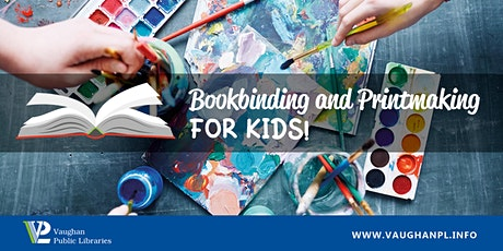 Bookbinding and Printmaking for Kids tickets