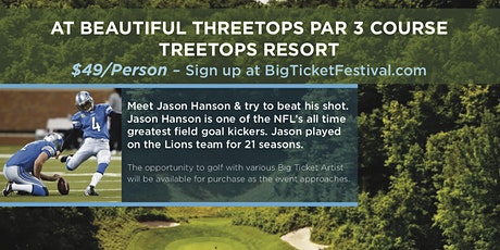 BTF2020 Golf Outing at Threetops Par 3 Course-Treetops Resort tickets