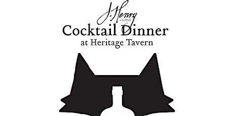 J. Henry & Sons Dinner tickets