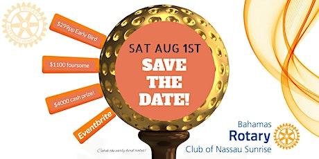 Rotary Club of Nassau Sunrise - 2nd Annual Sunrise Open Golf Tournament tickets