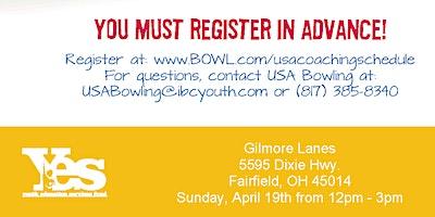 FREE USA Bowling Coach Certification Seminar - Gilmore Lanes, Fairfield, OH