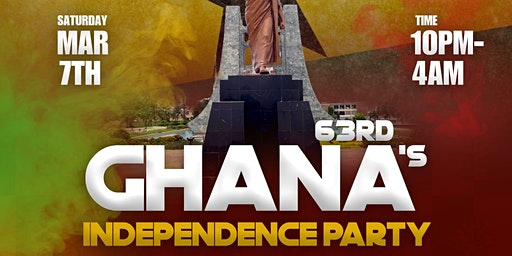 YEAR OF RETURN (Miami Edition) Celebrating Ghana's 63rd Independence