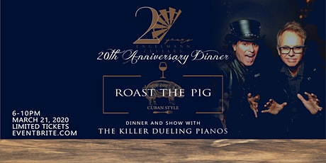 Roast the Pig The Killer Dueling Pianos Dinner Show at Engelmann Cellars tickets
