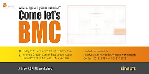 What stage are you in Business? Come let's BMC!