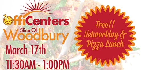 Slice of Woodbury Networking & Pizza Lunch tickets