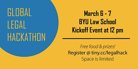 Global Legal Hackathon BYU Law: Legal Startup Competition tickets
