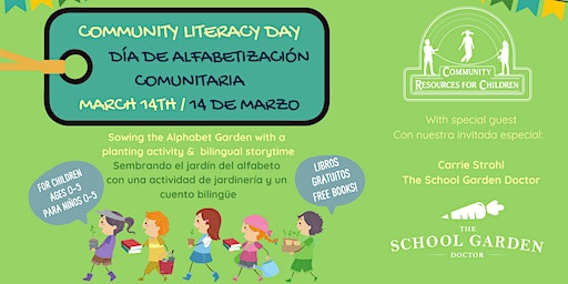 Community Literacy Day - Sowing the Alphabet Garden