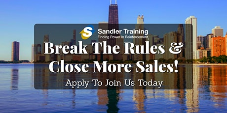 July Complimentary Sales Training Session In Chicago tickets