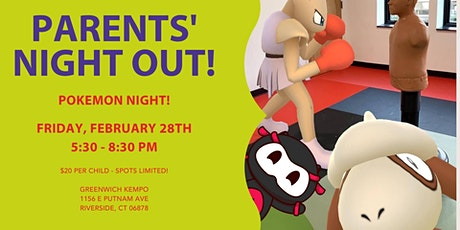 Parents' Night Out - Pokemon Night! tickets