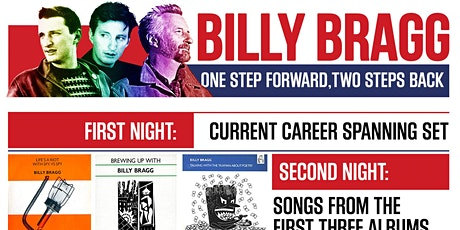 Billy Bragg - One Step Forward, Two Steps Back Tour tickets