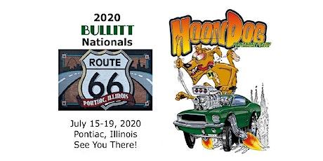 2020 HoonDog Bullitt and All Ford Nationals tickets