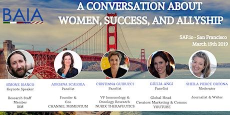 A conversation about Women, Success, and Allyship tickets