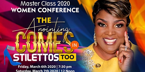 """The Anointing Comes in Stilettos Too"" with Ambassador Dr. Sharon Edmond....  Men are Welcome too."