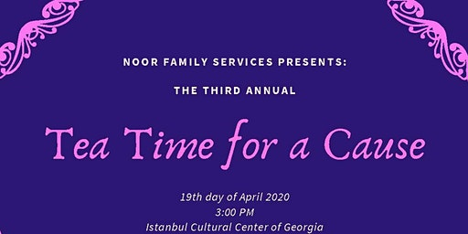 Third Annual Tea Time for a Cause
