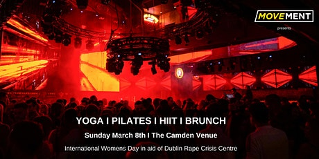Move & Groove in aid of Dublin Rape Crisis Centre I Pop up Fitness + Food tickets