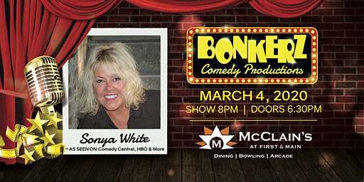Sonya White at Bonkerz Comedy Club - Blacksburg