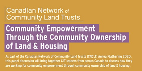 Community Empowerment Through Community Ownership of Land & Housing tickets