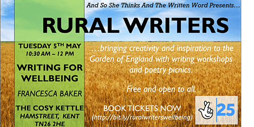 Rural Writers -  Writing for wellbeing with Francesca Baker