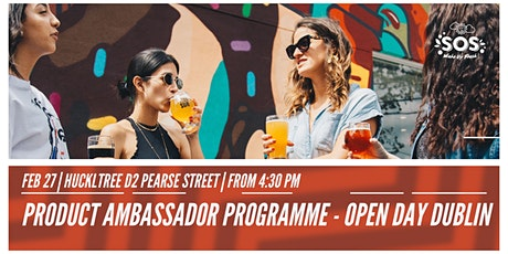 College Product  Ambassador Programme open Day Dublin - Drink SOS tickets