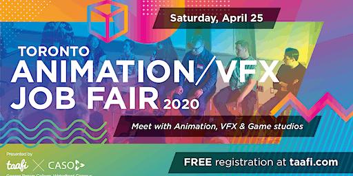 Toronto Animation/VFX Job Fair - 2020