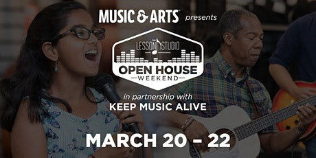 Lesson Open House Columbia tickets