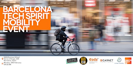 Connected Mobility Hub & Eada/Barcelona Tech Spirit Mobility Event tickets