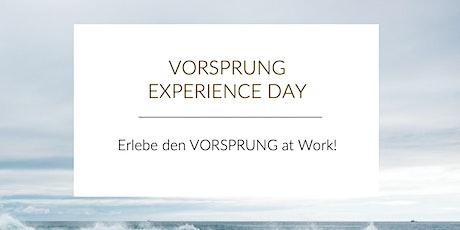 VORSPRUNG Experience Day tickets