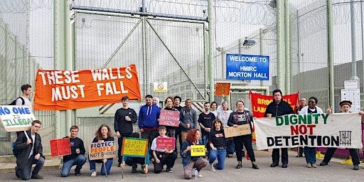 Morton Hall Detention Centre Protest - Leeds Transport