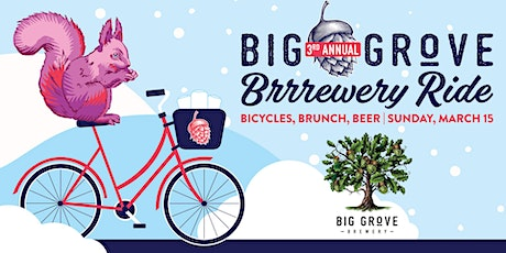 3rd Annual Big Grove Brrrewery Ride tickets