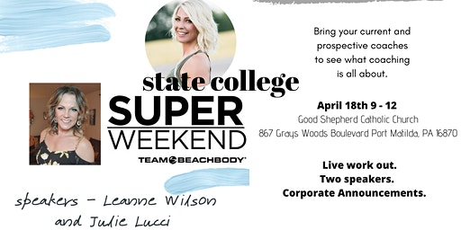 State College Super Weekend - Coaching Open House