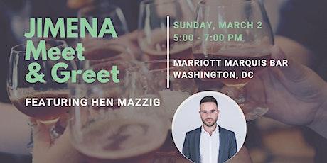 JIMENA Meet & Greet - Featuring Hen Mazzig tickets