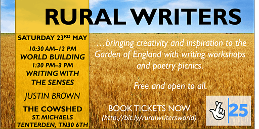 Rural Writers - World Building & Writing With The Senses with Justin Brown