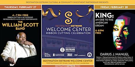 Destination Sistrunk Welcome Center Groundbreaking Celebration tickets