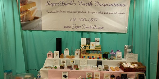 A Free Hand Spa Treatment at SuperDuck's Earth Inspirations Booth