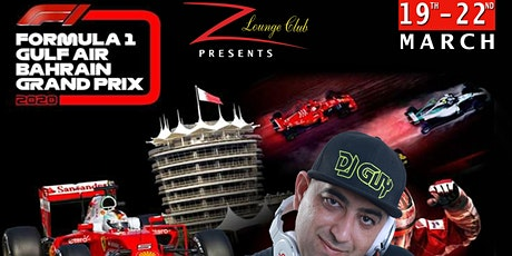 The Biggest F1 Party in Town@Z Lounge Club tickets