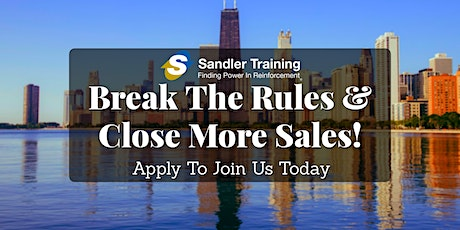 September Complimentary Sales Training Session In Chicago tickets