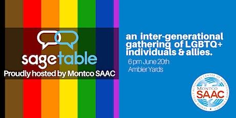 Montco SAAC SAGE Table tickets