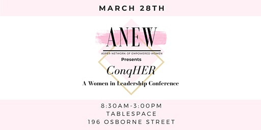 ConqHER, A Women in Leadership Conference