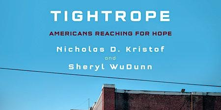 Nicholas D. Kristof and Sheryl WuDunn on New Book TIGHTROPE