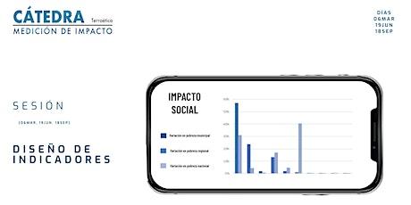 Sesión 2. Cátedra de Medición de  Impacto: Diseño de indicadores entradas