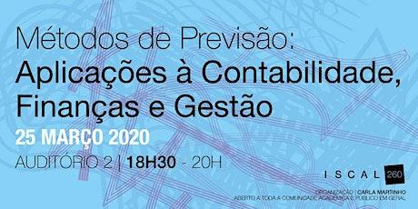 Métodos de Previsão: Aplicações à Contabilidade, Finanças e Gestão bilhetes