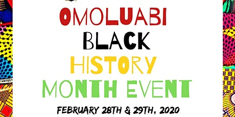 Omoluabi Black History Month Event tickets