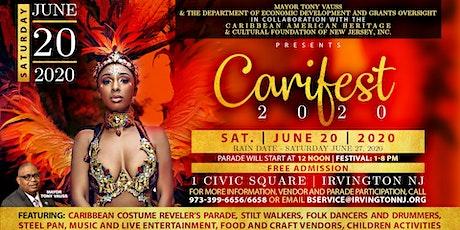 CARIFEST 2020 tickets