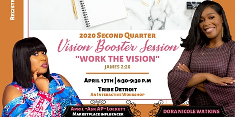 2020 Second Quarter Vision Booster Session tickets