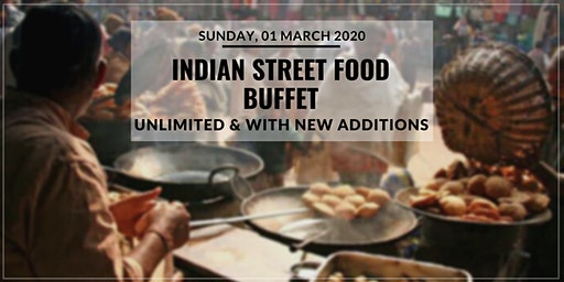 Unlimited Indian Street Food Buffet