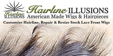 Make Semi-Custom Wigs! Learn how to safely Remove hair (Natural Hairline), Repair & Resize Stock Lace Front Wigs tickets
