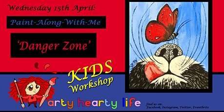 'Danger Zone' - Children's Painting Workshop @ YourSpace.Sutton tickets