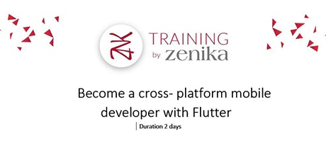 Flutter workshop : Become a cross- platform mobile developer with Flutter-  2 days ENG tickets